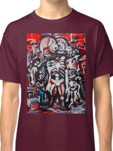 Zombie Land  Original Artwork by Jose Juarez !! Classic T-Shirt