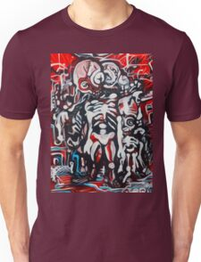 Zombie Land  Original Artwork by Jose Juarez !! Unisex T-Shirt