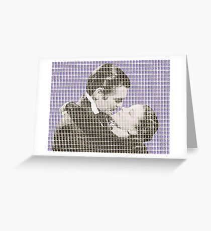 Gone With The Wind - Violet Greeting Card