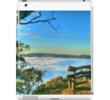 Rest Awhile Amongst The Clouds iPad Case/Skin