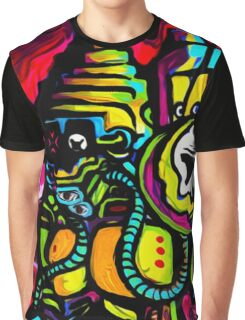 Android 7  / mecha robot Graphic T-Shirt