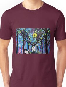 BEST FRIEND ANIMAL FANTASY ART Unisex T-Shirt
