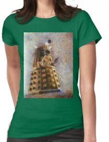 Dalek Flies! Womens Fitted T-Shirt