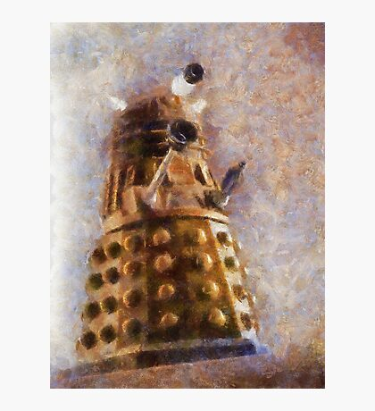 Dalek Flies! Photographic Print