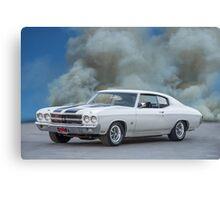 1970 Chevrolet Chevell SS396 Canvas Print