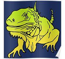 Iguana - Leguan Reptile Poster