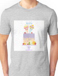 Birthday Cake I Love You Unisex T-Shirt