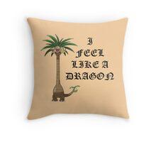 Exeggutor - I FEEL LIKE A DRAGON Throw Pillow