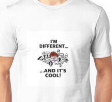Different is Cool Unisex T-Shirt