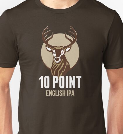 10 Point English IPA Unisex T-Shirt