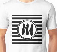 M Striped Monogram Unisex T-Shirt
