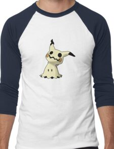 Mimikyu Men's Baseball ¾ T-Shirt