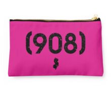 Area Code 908 New Jersey Studio Pouch