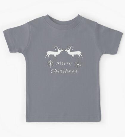 Christmas Reindeer Kids Tee