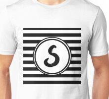 S Striped Monogram Unisex T-Shirt