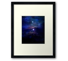 Science Fiction All Cosmos Space Framed Print