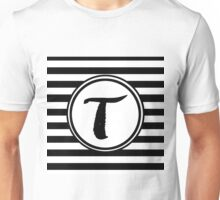 T Striped Monogram Unisex T-Shirt