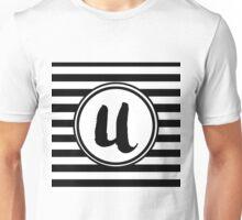 U Striped Monogram Unisex T-Shirt