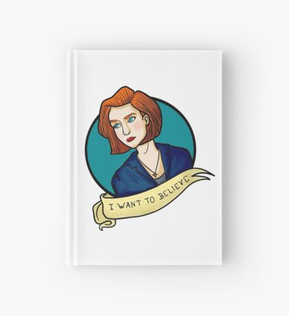 X-Files, Mulder + Scully Hardcover Journal