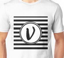 V Striped Monogram Unisex T-Shirt