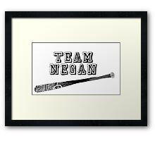Team Negan Framed Print