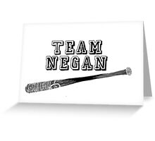 Team Negan Greeting Card