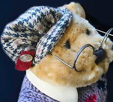 Professor Bear by heatherfriedman