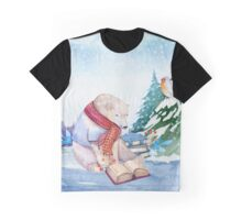 Winter Bear Graphic T-Shirt