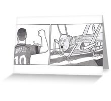James Greeting Card