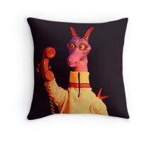 Figment Dragon Dreamfinder Dreamport Epcot Throw Pillow