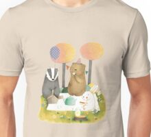 Picnic in the Forest Unisex T-Shirt