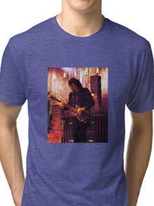 Heavy Metal  Guitarist Iommi  Tri-blend T-Shirt