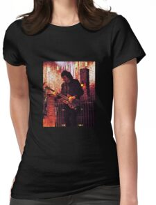 Heavy Metal  Guitarist Iommi  Womens Fitted T-Shirt