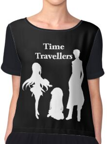 Time Travellers (White Edition) Chiffon Top