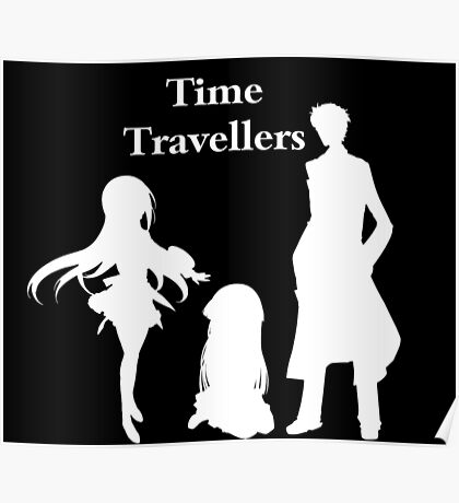 Time Travellers (White Edition) Poster