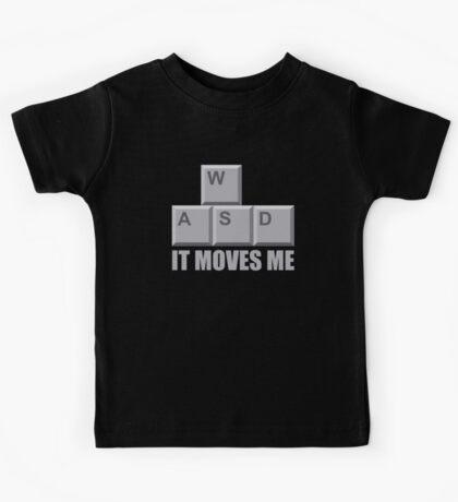 WASD PC Gamer T Shirt Kids Tee