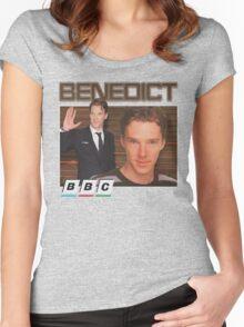 Benedict Cumberbatch 90s tee Women's Fitted Scoop T-Shirt