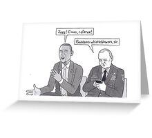 Obama Greeting Card