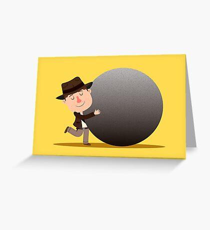 Indy - Boulder love Greeting Card
