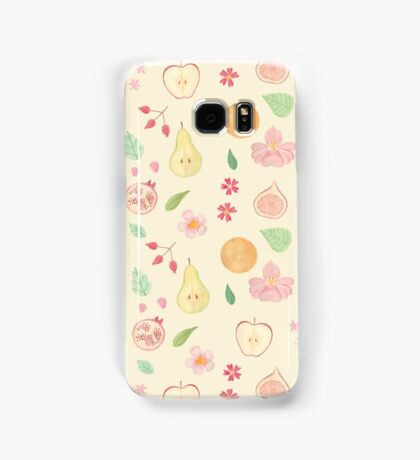Fruit and Flora Samsung Galaxy Case/Skin
