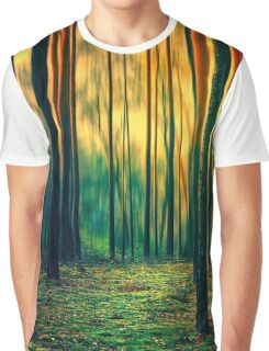 Green forest  Graphic T-Shirt