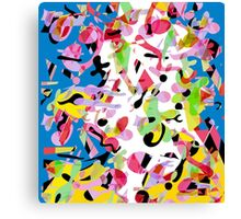 Colorful pother Canvas Print
