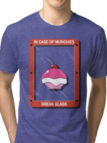 In Case of Munchies Tri-blend T-Shirt