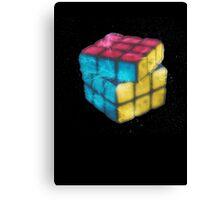Fractal 3d Rubik Cube Canvas Print