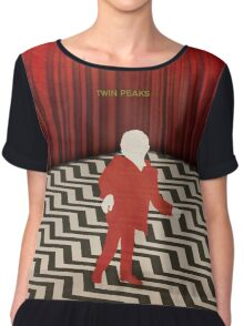 Twin Peaks Red Room Chiffon Top