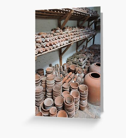 Potters Shed Greeting Card