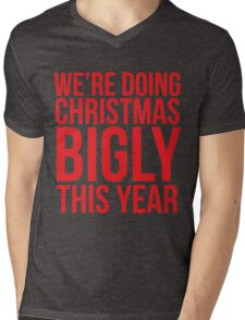 We're Doing Christmas Bigly This Year Mens V-Neck T-Shirt