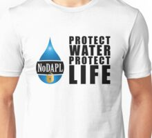 NoDAPL | Protect Water, Protect Life | V.2 Unisex T-Shirt