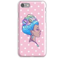 Grungy Antoinette iPhone Case/Skin