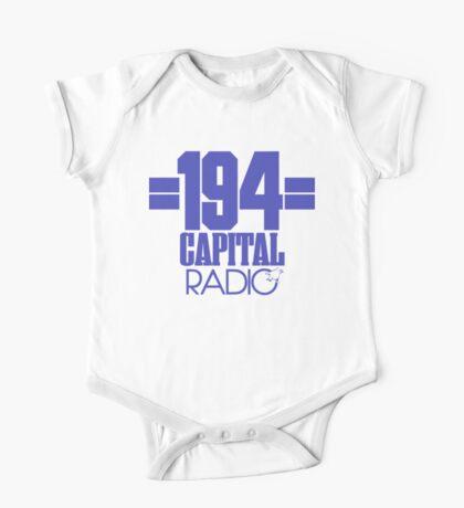 Capital Radio (1) - blue print One Piece - Short Sleeve